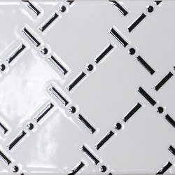 Italia Independent | Black and White Allover IO1510BWA | Carrelage pour sol | Ornamenta