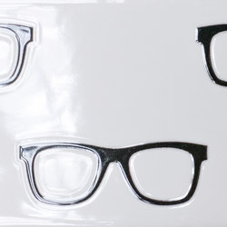 Quindicidecimi I-O Black and White Frames | IO1510BWF | Baldosas de suelo | Ornamenta