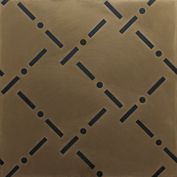 Identity I-O Bronze Allover | IO6060BA | Carrelage pour sol | Ornamenta