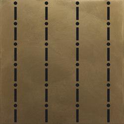 Identity I-O Bronze Gessato | IO6060BG | Bodenfliesen | Ornamenta
