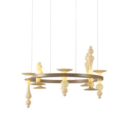 Castello Chandelier | Suspended lights | Abate Zanetti