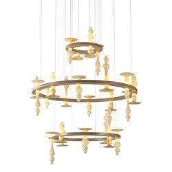 Castello Chandelier | Ceiling suspended chandeliers | Abate Zanetti