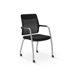 Slat4C | Visitors chairs / Side chairs | Dynamobel