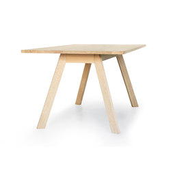 Eyes Wood Table EJ 2T | Mesas comedor | Erik Jørgensen