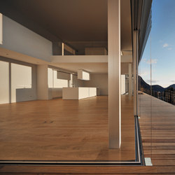 Sun sliding window | Persianas horizontales | Sky-Frame