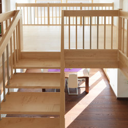 STAIRs Maple basic | Sistemas de escalera | Admonter Holzindustrie AG