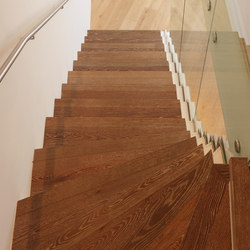 STAIRs Oak medium | Wood stairs | Admonter Holzindustrie AG