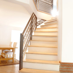 STAIRs Oak white | Wood stairs | Admonter