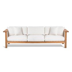 Maro 3 Seater Sofa | Sofás de jardín | Oasiq