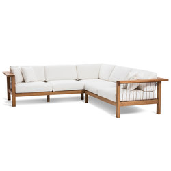 Maro Corner Sofa | Garden sofas | Oasiq