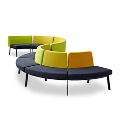 System furniture for waiting rooms EJ 2100 | Bancs | Erik Jørgensen