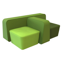 Mint Lounge Chair | Modular seating systems | Rossin