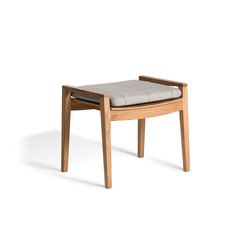 Diuna Foot Stool | Gartenhocker | Oasiq