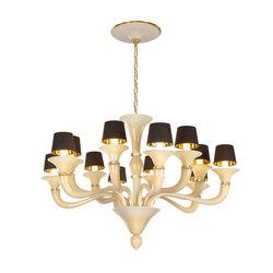 Celestia Chandelier | Ceiling suspended chandeliers | Abate Zanetti