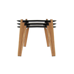 Kollektion.58 Karl Schwanzer Nesting Tables | Lounge tables | rosconi