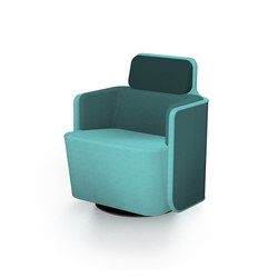 PodSeat with low backrest | Loungesessel | Martela