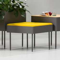 Rombo seating | Ottomans | Cascando