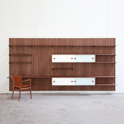 FJ panel system | Office shelving systems | House of Finn Juhl - Onecollection
