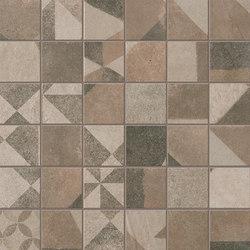 Terra Deco Beige Macromosaico | Ceramic mosaics | Fap Ceramiche