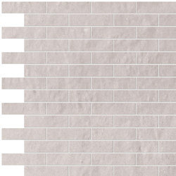 Creta Perla Brick Mosaico | Mosaici ceramica | Fap Ceramiche