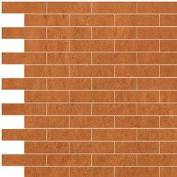 Creta Ocra Brick Mosaico | Ceramic mosaics | Fap Ceramiche