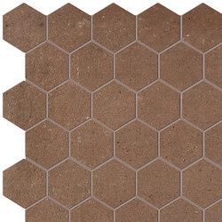 Terra Cotto Esagono Mosaico | Ceramic mosaics | Fap Ceramiche