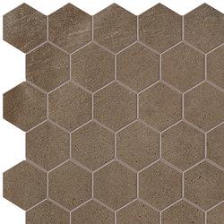 Terra Caffè Esagono Mosaico | Ceramic mosaics | Fap Ceramiche