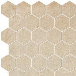 Terra Siena Esagono Mosaico | Ceramic mosaics | Fap Ceramiche