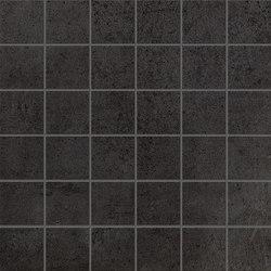 Terra Antracite Macromosaico | Ceramic mosaics | Fap Ceramiche