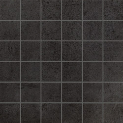 Terra Antracite Macromosaico | Mosaike | Fap Ceramiche