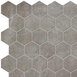 Terra Malta Esagono Mosaico | Ceramic mosaics | Fap Ceramiche