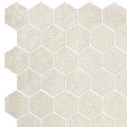 Terra Avorio Esagono Mosaico | Ceramic mosaics | Fap Ceramiche