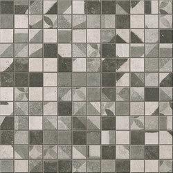 Terra Deco Grey Mosaico | Mosaike | Fap Ceramiche