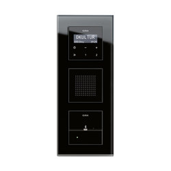 RDS flush-mounted radio and Docking station | Esprit | Radio systems | Gira