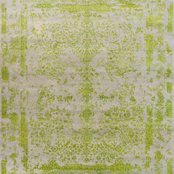 Kashmir Blazed apple green 4739 | Tapis / Tapis design | THIBAULT VAN RENNE