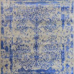 Kashmir Blazed dark blue 4739 | Tappeti / Tappeti d'autore | THIBAULT VAN RENNE
