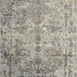 Kashmir Blazed Silver 4739 | Formatteppiche / Designerteppiche | THIBAULT VAN RENNE