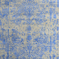 Kashmir Blazed sky blue 4739 | Alfombras / Alfombras de diseño | THIBAULT VAN RENNE
