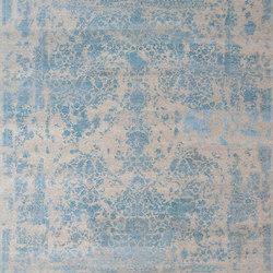 Kashmir Blazed Aqua blue 4808 | Rugs | THIBAULT VAN RENNE