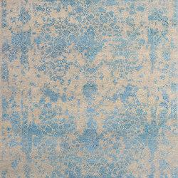 Kashmir Blazed Aqua blue 4809 | Rugs | THIBAULT VAN RENNE