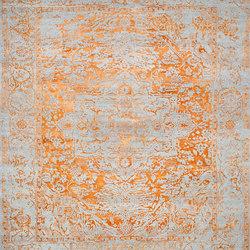 Kashmir Blazed Fast Orange range 4840 | Rugs | THIBAULT VAN RENNE