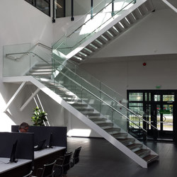 SP200 staircase system | Metal stairs | Steelpro