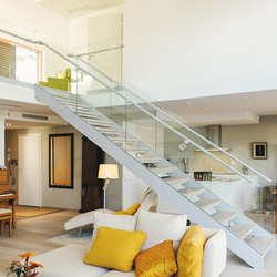 SP200 staircase system | Wood stairs | Steelpro