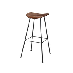 Gubi 2D Stool - Center Base | Bar stools | GUBI