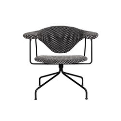 Masculo Swivel Lounge Chair | Armchairs | GUBI