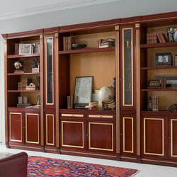 Fortuna Gold | Library | Library shelving | GeD Arredamenti Srl