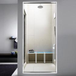 Spaziodue 90 | vitre fixe | Bien-être | Effegibi