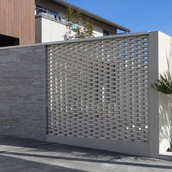 Ceramic screen in-situ | Ejemplos de fachadas | Kenzan