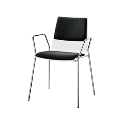 Varius 1365|003 | Visitors chairs / Side chairs | BRUNE