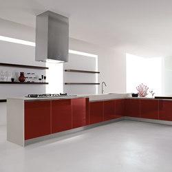 Velvet Profile I | Kitchen | Fitted kitchens | GeD Arredamenti Srl